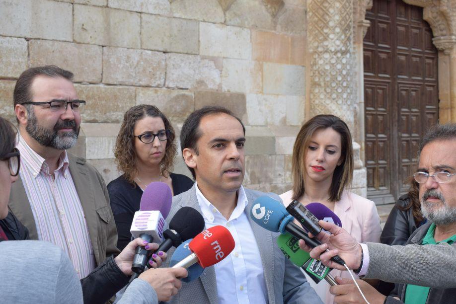 El PSOE exige actuaciones urgentes para que el Palacio del Infantado pueda reabrirse